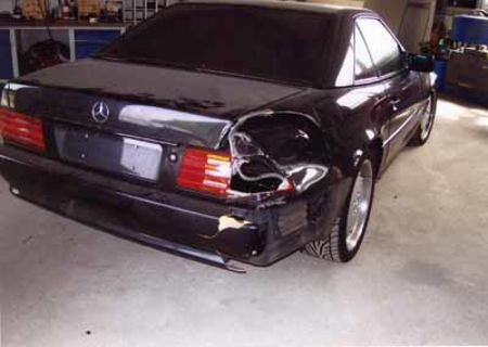 Mercedes vorher