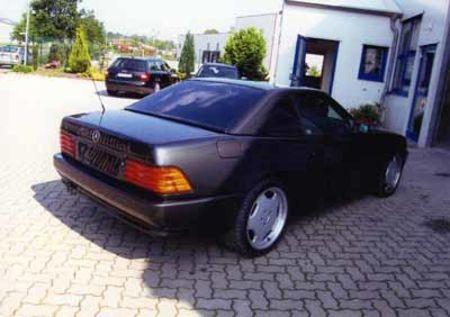 Mercedes nachher